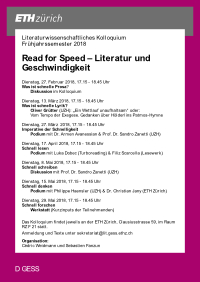 Read for Speed
