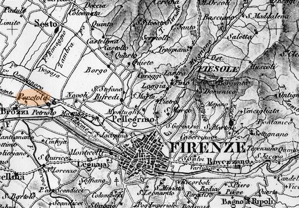 Firenze Cartina Geografica.Tempo E Spazio